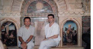 Sa školskim drugom Kostom Dimitrijevićem iz Dupljana doktorom kibernetike sa Sorbone koji živi i radi u struci u Parizu